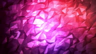 Abstract geometric triangle background. Seamless Loop.