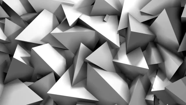 Abstracte geometrische driehoek achtergrond