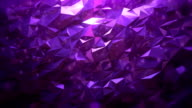 Abstract geometric triangle background violet