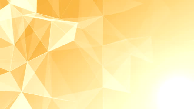 Abstract Geometric Triangles Background gold