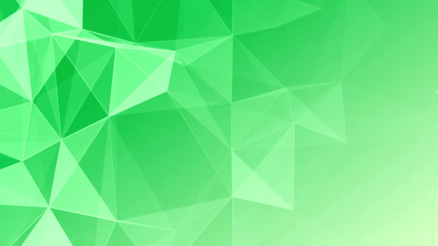 Abstract Geometric Triangles Background green