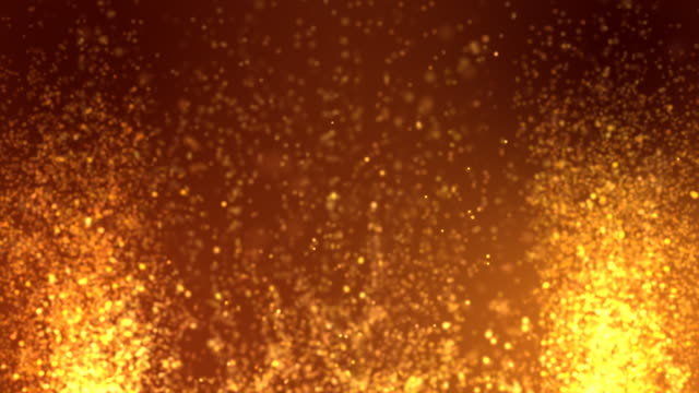 Abstract gold background loopable
