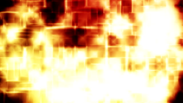 Abstract golden loopable disco style background