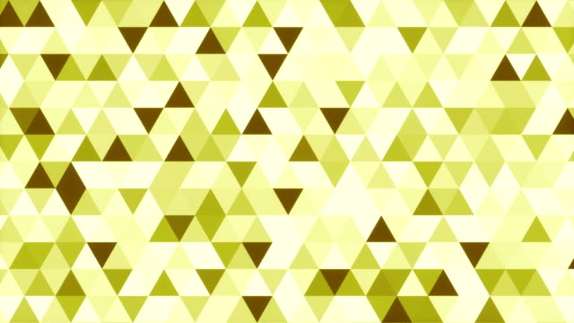 Abstract green shades geometric triangle pattern 3d rendering