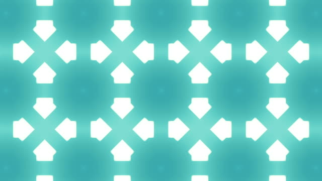 Abstract kaleidoscope background animation