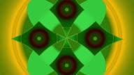 Abstracte Caleidoscoop patroon