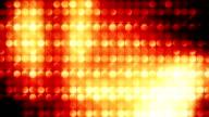 Abstract light mosaic loop