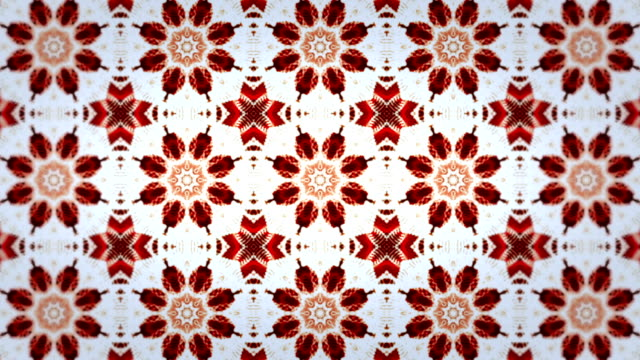 Abstract loopable kaleidoscope background