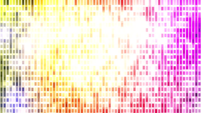 Abstract loopable mosaic background