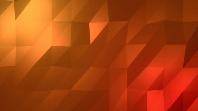 Abstract low-poly orange element design background
