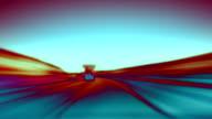 Abstract motorway loop. HD