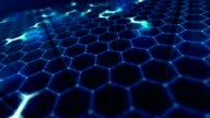 Abstract network background.