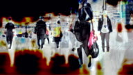 Abstract People in City. HD