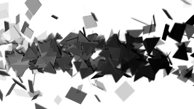 Abstract polygon background animation