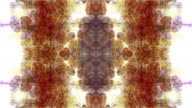 Abstract Rorschach imagery forms and flows (Loop).