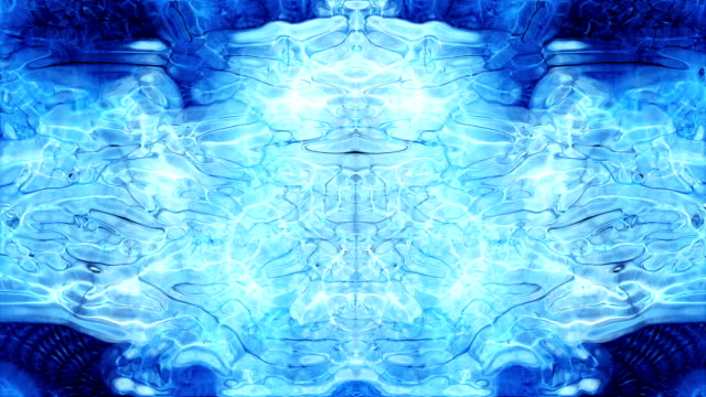 Abstract Rorschach Video Background (Loop).