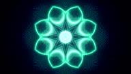Abstrakte Formen Symmetrie loop