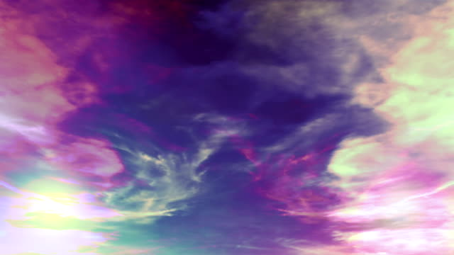 Abstrakt Himmel und Wolken