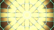 Abstract symmetry background animation