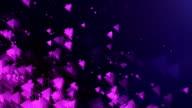Abstract Triangles Background (Purple, Dark) - Loop