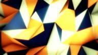 Astratto triangoli loop