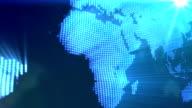 Abstrakte Welt Karte Hintergrund