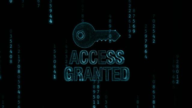 Accesso negato con chiave