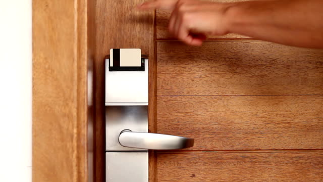Accessibility inserting Keycard