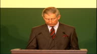 speeches by Prince Charles and Tony Blair ENGLAND London Clarence House INT Prince Charles Prince of Wales speech SOT I should say to begin with how...