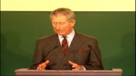 speeches by Prince Charles and Tony Blair For us today the questions are what do we do when we have grown and prospered when we have much of what we...
