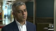 Youth appears in court charged with London attacks ENGLAND London INT Sadiq Khan interview SOT on moped theft attacks