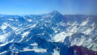 aconcagua montaña desde el aire