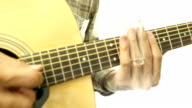 acoustic guitarist HD with bottle slide