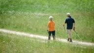 HD: Active Seniors Nordic Walking