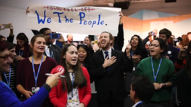 'The Role of Cleaner and More Efficient Fossil Fuels and Nuclear Power in Climate Mitigation' with friendly singing at the COP 23 United Nations...