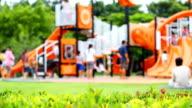 Activities at playground.