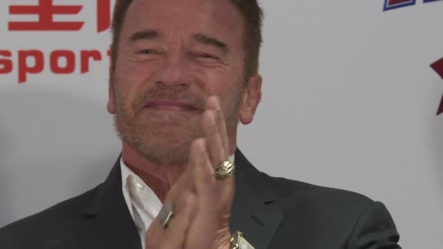 US actor and former California governor Arnold Schwarzenegger launches a new sports festival in Hong Kong telling the stressed out city to remember...