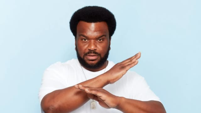 Actor Craig Robinson of Fox's 'Ghosted' poses for a portrait gif during ComicCon 2017 at Hard Rock Hotel San Diego on July 20 2017 in San Diego...