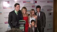 Actor Pablo Schreiber Actress Malin Akerman Actress Zoe Kazan Director Josh Radnor and Actor Michael Algieri at the Premiere of...