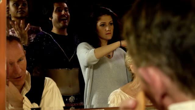 Actors in Dressing Room