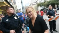 Actress Amy Schumer arrives at the premiere of 'Trainwreck' during the 2015 SXSW Music Film Interactive Festival at Paramount Theatre on March 15...