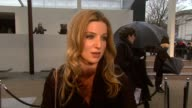 Actress Annabelle Wallis on how she is finding London Fashion Week at the Burberry Prorsum London Fashion Week A/W 2010 Red Carper Arrivals at London...