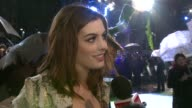 Actress Anne Hathaway at the Alice in Wonderland Royal World Premiere at London England