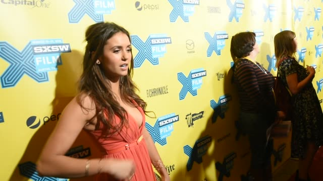 Actress Nina Dobrev arrives at the premiere of 'The Final Girls' during 2015 SXSW Music Film Interactive Festival at the Paramount Theatre on March...