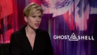 Actresses Juliette Binoche and Scarlett Johansson talk about their new film the first live action adaption of the cult manga Ghost in the Shell
