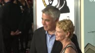 Adam Arkin and guest at the 'A Serious Man' New York Premiere at New York NY