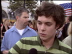 Adam Brody at the 'Grind' Premiere at Grauman's Chinese Theatre in Hollywood California on August 13 2003