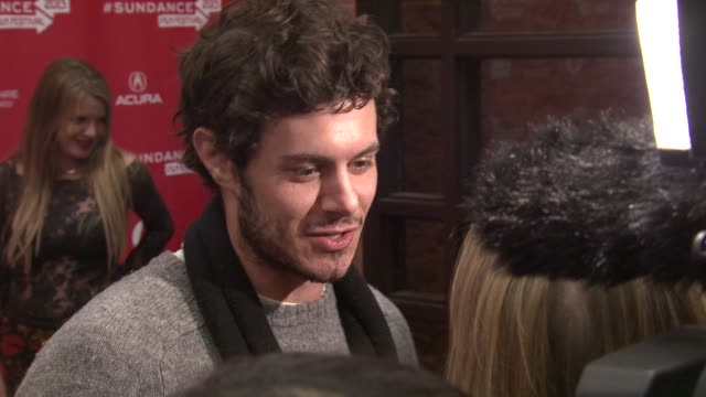 Adam Brody at the 'Lovelace' Premiere in Park City UT 01/22/13 Adam Brody at the 'Lovelace' Premiere in Park City at Eccles Center Theatre on January...
