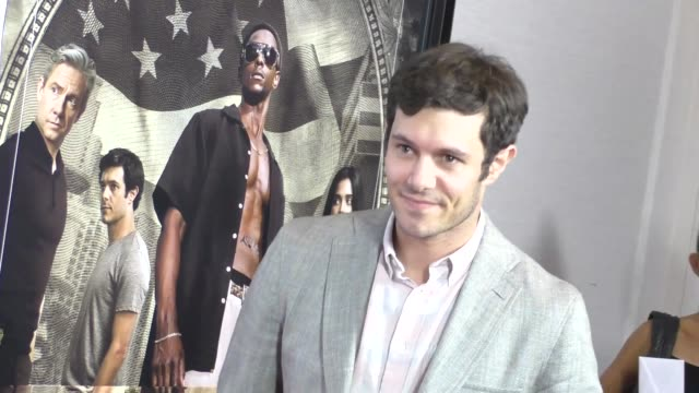 Adam Brody at the Premiere Of Crackle's Startup at London Hotel in West Hollywood in Celebrity Sightings in Los Angeles