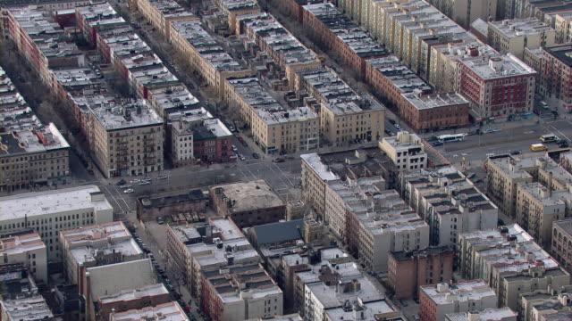 Adam Clayton Powell Jr Boulevard In Harlem, New York City.